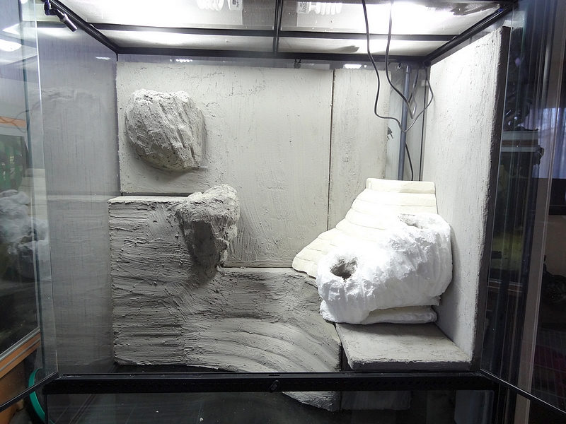 stofmania paludarium construction step 6. Black Bedroom Furniture Sets. Home Design Ideas